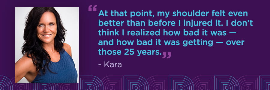 Kara's Story: Fitness Instructor Experiences a Labral Tear