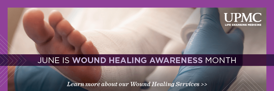 June is wound healing month.